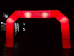 Luces led iluminación arco inflable