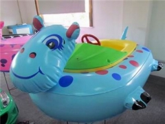Inflatable Hippo Bumper Boat
