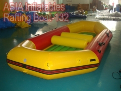 2 asientos barco de rafting inflable