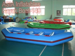 4 plazas barco inflable