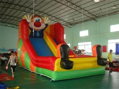 Diapositiva inflable del payaso