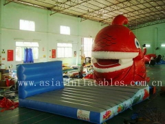 Inflatable Snappy Fish Slide