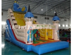 Drakon land inflatable slide