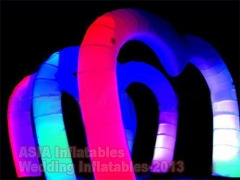 Luces led etapa inflable