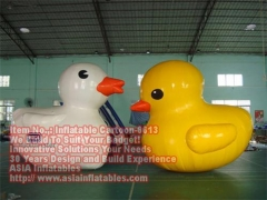 Pato inflable sellado aire