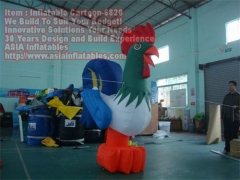 Gallo inflable