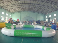 Piscina inflable para uso profesional