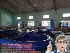 Piscina inflable sellada