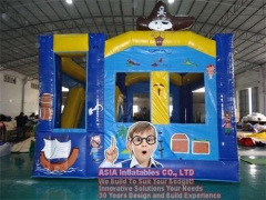 Lil piratas bouncy castillo
