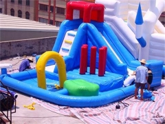 Chapoteo de agua inflable