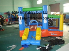Casa inflable mini rebote patio trasero