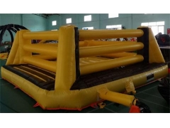 Bouncy boxing con guantes