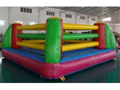 Inflable bouncy boxing con guantes