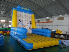 Pared adhesiva de velcro inflable