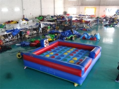 Inflable twister juego