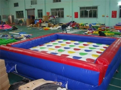 Inflable twister partido juego