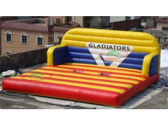 Gladiador inflable personalizado joust