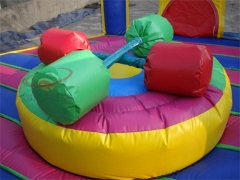 Gladiador inflable podiums