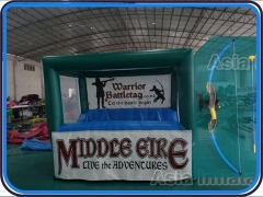 Tiro con arco hoverball inflable