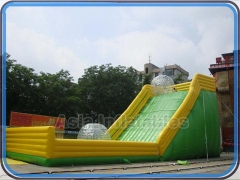 Inflable rampa de bola zorb