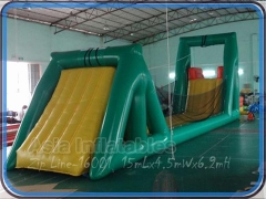 Tirolesa inflable