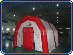 carpa inflable para hospitales móvil