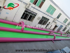 1000ft slip n slide inflatable slide the city
