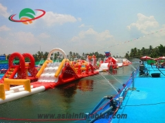 Inflatable Aqua Run Challenge Water Pool Toys Online