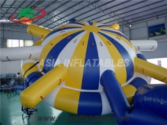 Inflable agua saturno