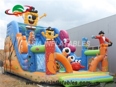 tobogán inflable