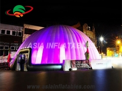 carpa inflable led ligera