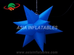 estrella led inflable para decoracion