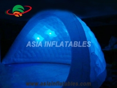 carpa inflable de iluminación led