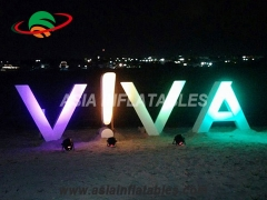 Advertising Letter with LED Light