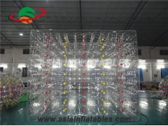 carpa inflable transparente
