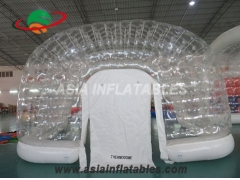 pvc de doble capa inflatabl led carpas