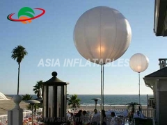 globo inflable de pie