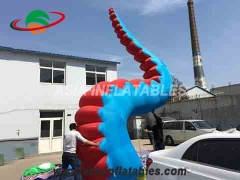 pulpo inflable led tentáculo