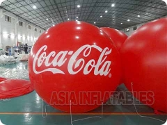 Coca Cola Branded Balloon and Balloons Show