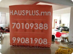 Custom Logo Inflatable Cube Balloon