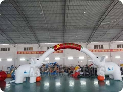 Arco triunfal inflable individualizado