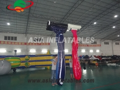 Customized Inflatable Razor shape