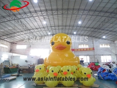 pato inflable inflable estanco al aire