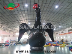 decoracion inflable modelo cisne
