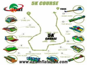 Inflatable 5k Obstacles