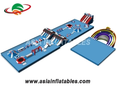 Best Frame Pool Inflatable Slide Float Water Park Toys for Land Park and wholesale price