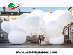 nube led inflable