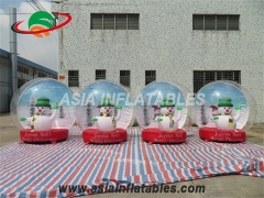 Best-selling Christmas Inflatable Snow Globe Balloon