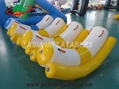 11 pies inflable agua teeter totter