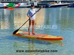 Inflatable SUP Paddle Board Surfing